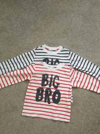 Big brother long sleeve top 18-24 months