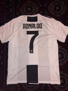 Ronaldo 7 Juventus Soccer Jersey BRAND New w Tags  WIN SPECIAL  34068ce48