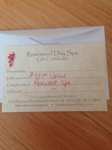 Rosewood Spa Gift Card