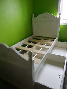 Trundle bed and dresser