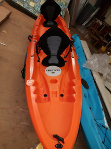 WHITE KNUCKLE EXPLORER SIT ON TOP KAYAKS