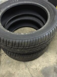 3 Winter tires 195-50-16 Continental