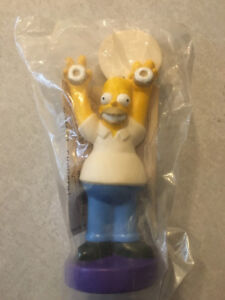 """THE SIMPSONS """"Homer & Bart Donut Toys"""" (Winchell's Donuts)(1993)"""
