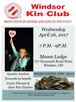 Windor Kin Club Quarter Auction to Benefit Cystic Fibrosis