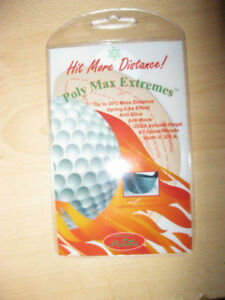 Hit more distance! Golf club performance head cover stickers