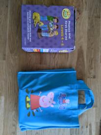 Peppa pig and Biff and Kipper books