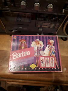 Vintage 1992 Barbie Matching Fashion Game
