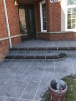 Porch Resurfacing Jewel Stone / Wash and Seal