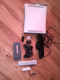 Xbox 360 ,with Kinect and 38 games