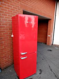 A+ class Frost free Red Bush fridhe freezer