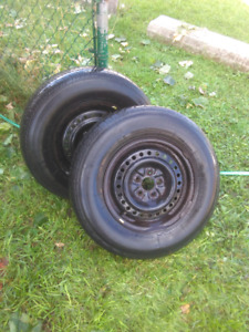 Plymouth Voyager/Dodge tires on rims