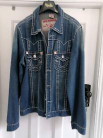 Xxl mens new jeans jacket