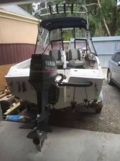 5 meter Fishing boat. low hour Yamaha 70hp Outboard Tootgarook Mornington Peninsula Preview