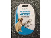 Hi-Visibility Pet Safety LED Flasher
