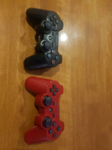 2x PS3 wireless remotes