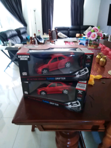 2 x remote control toy cars