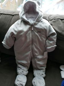 18m carters snow suit