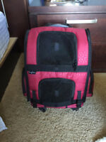 GenPets carry on dog crate on wheels