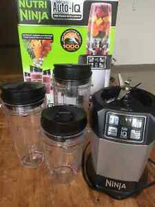 Nutri Ninja Auto-iQ Blender for sale! Peterborough Peterborough Area image 1