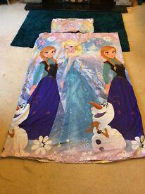 Frozen single duvet cover set