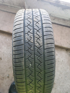 16 inch Hyundai alloy with 4 new 205 55 16 tires