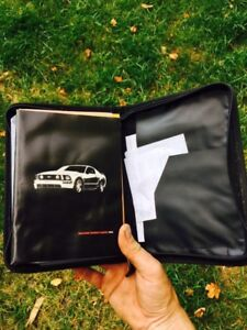 2006 mustang manual and case