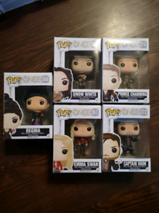 Once upon a Time Funko pops