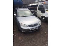 Ford Mondeo Zetec Tdci 130 Silver Spares or Repair