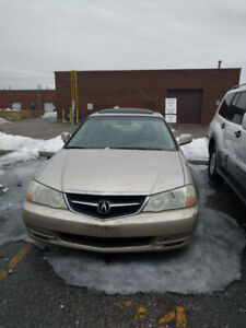 2001 Acura TL for parts