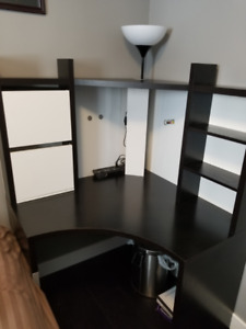 Black corner Desk - Ikea