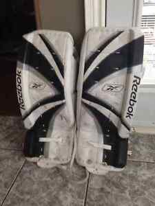 Full set of Reebok Goalie equipment