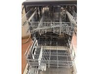 beko black dishwasher 600 cm