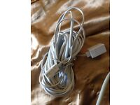 Phone cable extension for sale. Could be 10m or more