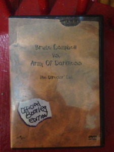 Army of Darkness DVD (Collectable Movie)