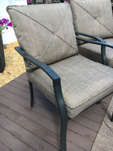 Cushions for 4 Patio Chairs
