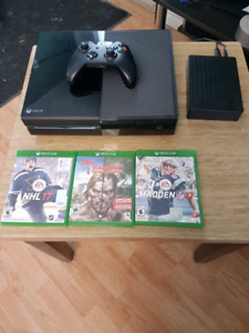 Xbox One 500 GB + 3 TB external drive for free + games and more