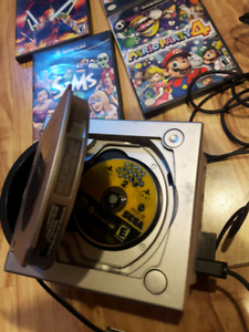 game cube + 5 jeux