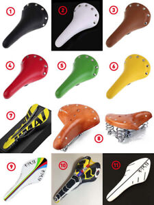 NEW BIKE SADDLES