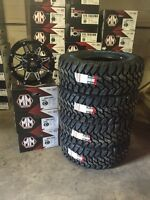 35 inch Dodge Ram Cooper Mud Tire And Rim Package