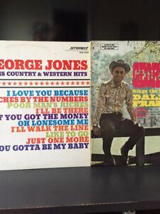 Plusieurs disques de vinyles