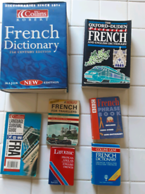 Learn French translation books and 7 Michel Thomas cd s