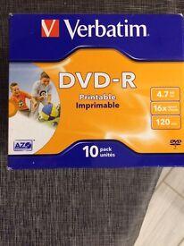 70 DVD R discs