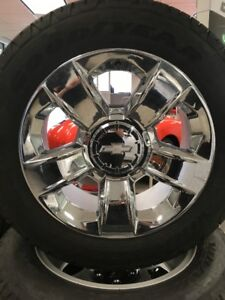"NEW Take/off, 20""  tire and rim package - Chevrolet Silverado"