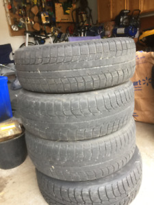 SNOW TIRES. MICHELIN X-ICE BRAND. PRICE REDUCED.
