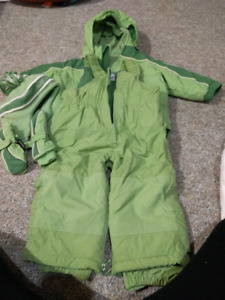 Winter Jacket and overall size 18 months