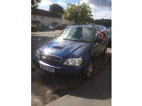 2003 Kia sedona automatic diesel long mot quick sale needed
