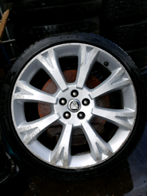 Jaguar xf alloy 20 inch XF painted