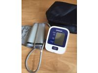Omron blood pressure and pulse machine instructions and