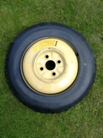 Mazda Mx5 spare wheel. Mk 1.