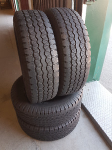 255/70R16 GOODYEAR , 4 SUMMER TIRE FOR SELL